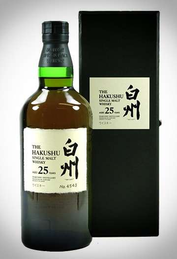 The Hakushu Single Malt 25 ans
